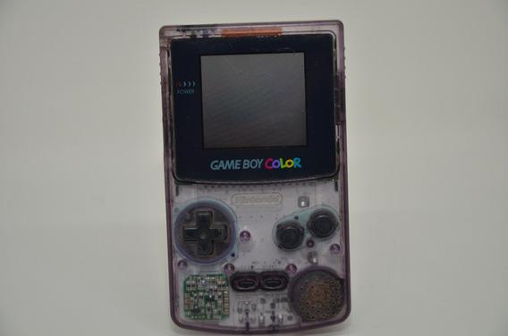 Nintendo Gameboy Color Game Boy Gbc 100% Original Purple