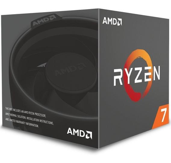 Processador Amd Ryzen 7 2700 Am4 3.2ghz (4.1ghz Max Turbo)