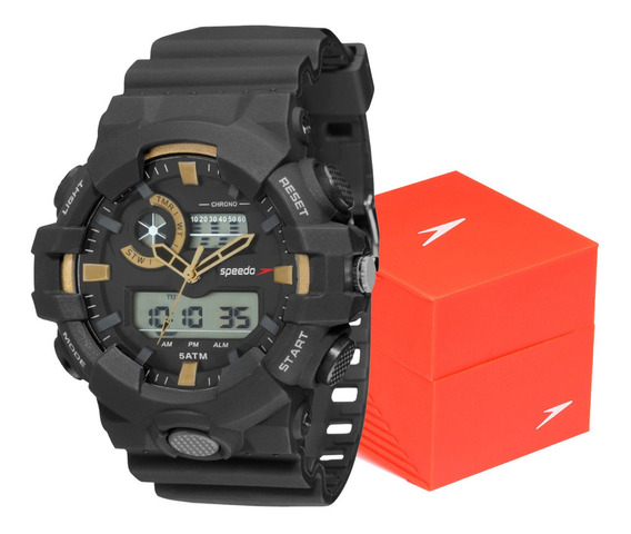 Relógio Masculino Speedo Esportivo Anadigi Original Promoção