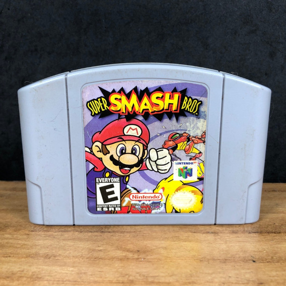Super Smash Bros 64 Nintendo 64 Original C/ Nf + Garantia