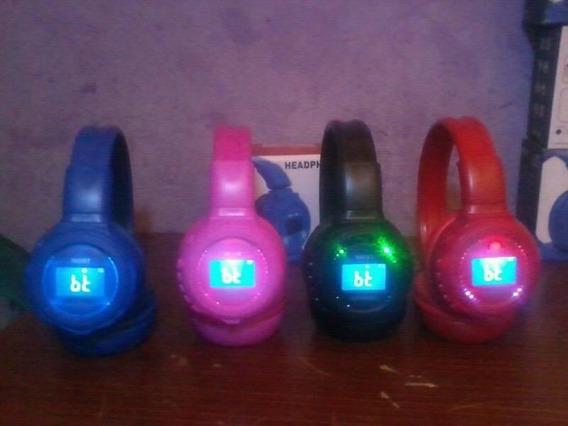 Audifonos Inalambricos, Bluetooth, Radio Fm, Puerto Sd.....