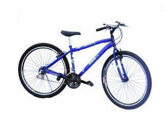 Bicicleta Aro 29 Onix V Braik 18 Marchas C/aro Aero Cor Azul