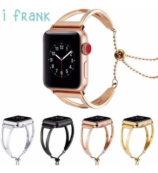 Correa Apple Watch Extensible Mujer Acero Serie 1 2 3 4 5