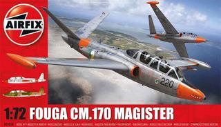 Avião Fouga Cm.170 Magister Kit Airfix 1/72 Tipo Revell