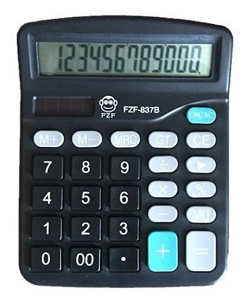 Calculadora Eletrônica Escritório Display 12 Digitos