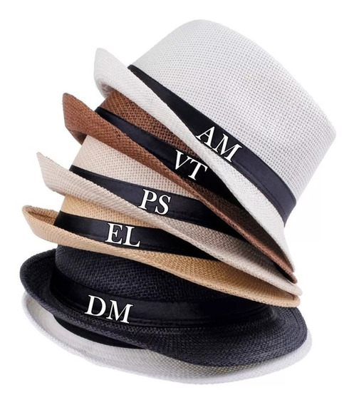 Chapéu Panamá Personalizado Formatura Despedida Solteira