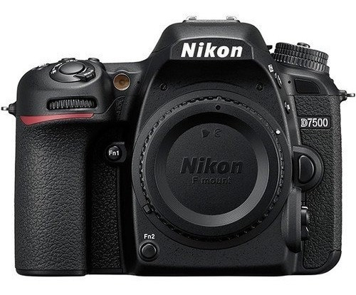 Câmera Nikon D7500 Dslr (apenas Corpo) 20.9 Mp 12x S/juros