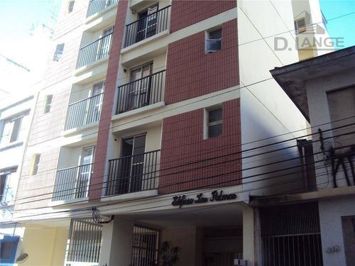 Imagem 1 de 15 de Apartamento Com 1 Dormitório À Venda, 40 M² Por R$ 165.000,00 - Centro - Campinas/sp - Ap11439