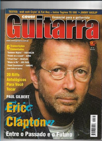 Cover Guitarra 78 Revista Eric Clapton Excelente Estado!!