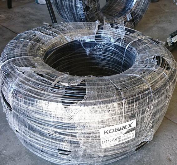 70mts Cable Multipl Alum Distr Aérea Neutranel 2+1 Cal 6 Awg