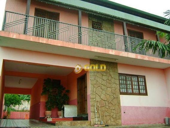 Sobrado Com 4 Dormitórios À Venda, 275 M² - Jardim Planalto - Paulínia/sp - So0048