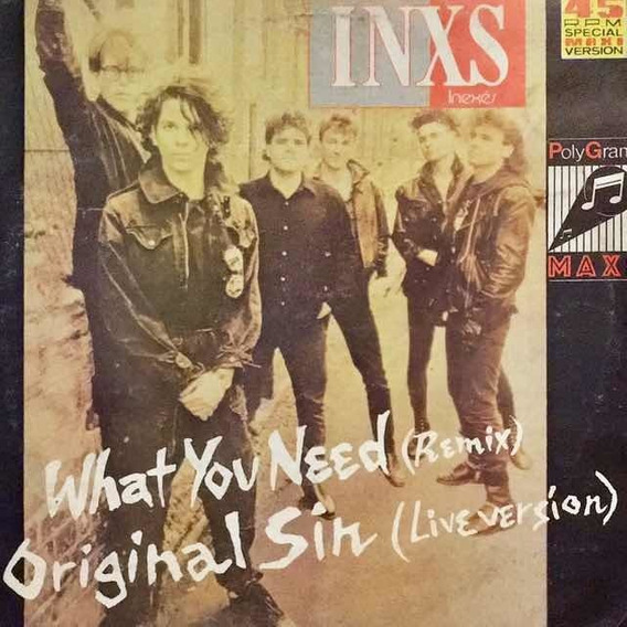 Lp Inxs - What You Need (remix)
