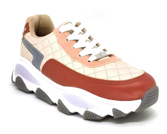 Tênis Feminino Chunky Sneaker Vizzano 1343.202 Bege