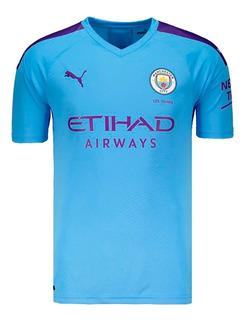 Camisa Do Manchester City Original Nova Oficial - Promoção