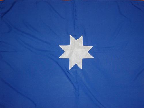 Imagen 1 de 2 de Bandera Mapuche Wuñelfe / Barbazar