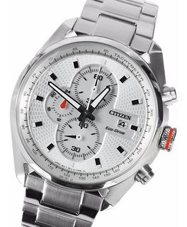 Reloj Citizen Ca036058a Eco Drive Cronografo Acero 100m Wr