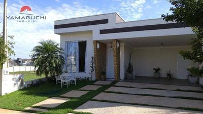 Casa Residencial À Venda, 182 M², Condomínio Reserva Real, Paulínia. - Codigo: Ca0073 - Ca0073