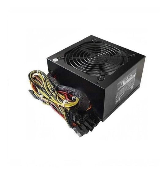 Fonte Real Atx 400w Pc Gamer Super Silenciosa Hoopson