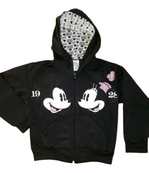 Agasalho Minnie Mickey Menina Inverno