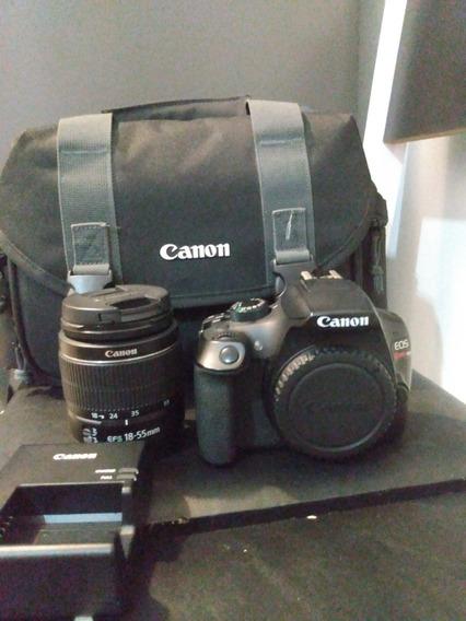 Câmera Digital Dslr Canon Eos Rebel T6 Com 18mp, Lcd 3.0, S