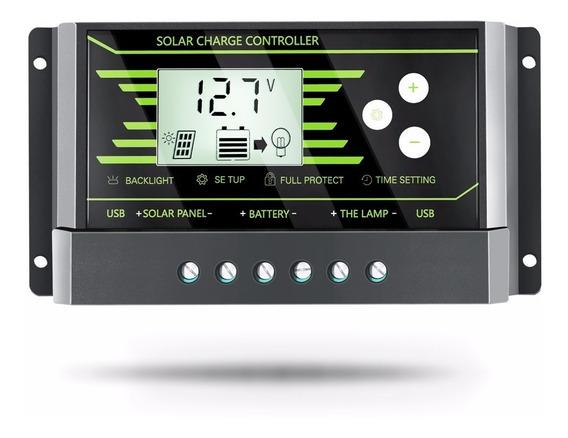 Controlador Solar Pwm Y-solar 24 V/12 V Auto 30a Automatico