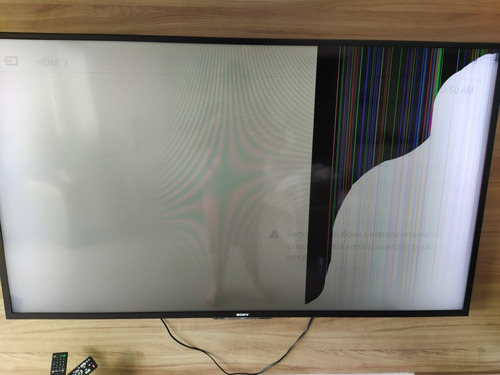 Tv Sony Bravia 70 Polegadas Com Display Quebrado