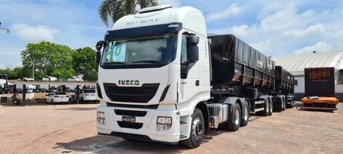 Caminhão Iveco 480 Hi-way 6x4 Cavalo Traçado 2020