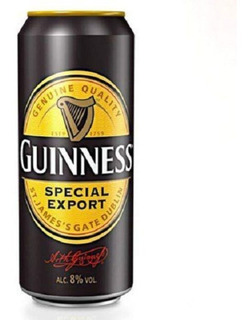 Pack X4 Cerveza Guinness Stout Special Export Lata 500 Ml