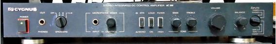 Amplificador Cygnus Ac 300 Raro Anos 80