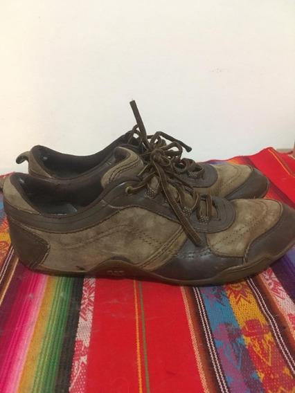 Zapatillas Botas Cat Cuero Nobuck Nro 12 - 45
