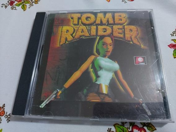Tomb Raider Playstation One Ps1 Patch Prensado Prateado B