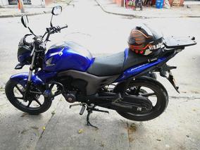 Moto Honda Invicta 150cc Modelo 2015 Azul
