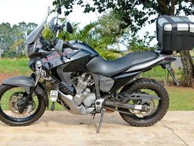 Honda Transalp Xl700v Preta - Acessórios Originais Honda