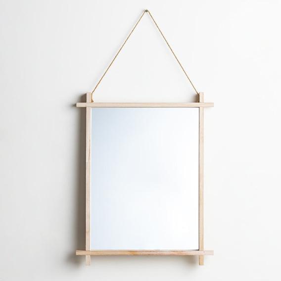 Espejo Colgante Cuatro Esquinas