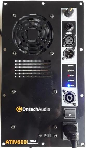Painel Amplificador Ativador De Caixa Ativ600