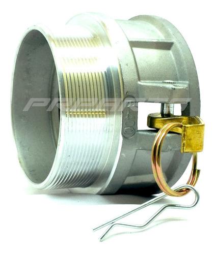 Imagem 1 de 3 de Engate Rápido Femea Tibo B Aluminio 4 Polegada Rosca Externa