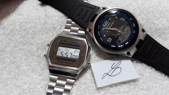 Relógios Casio Aw-82 E A-168 (conjunto) !