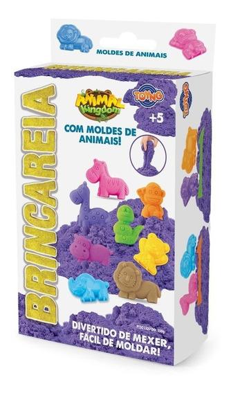 Brincareia Kit Areia Com Moldes De Animais Toyng
