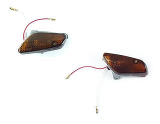Seta Pisca Yamaha Crypton 105 Dianteiro Dir/esq Par Completo