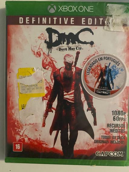Devil May Cry Definitive Ed. Mídia Fisica Lacrado Xbox One