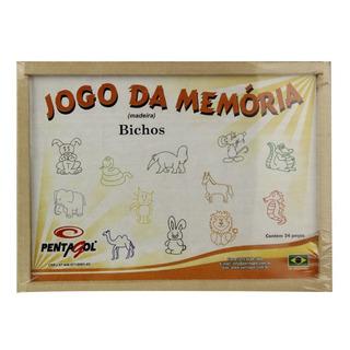 Jogo Da Memória Madeira