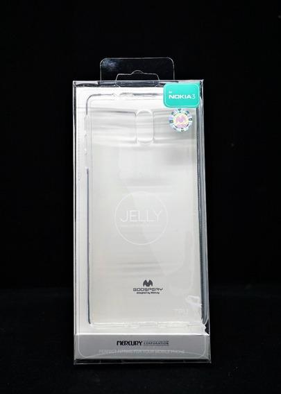 Funda Nokia 3 Mercury Goosperytransparente