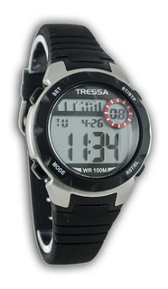 Reloj Tressa Digital Dama , Nena O Nene Sumergible 100m Luz ,rosa ,blanco,negro ,azul Garantia Oficial !