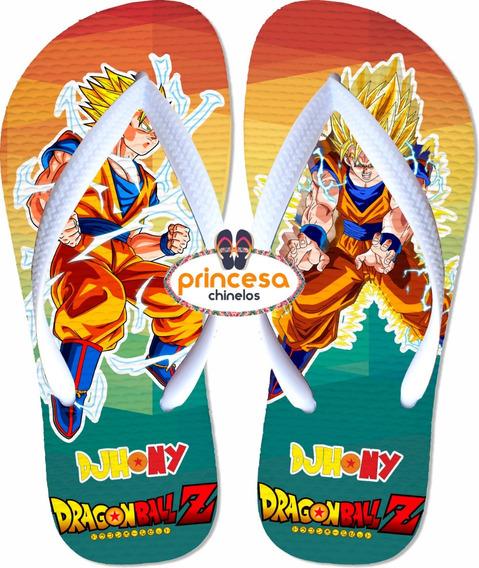 Chinelos Personalizados + Barato Do Goku