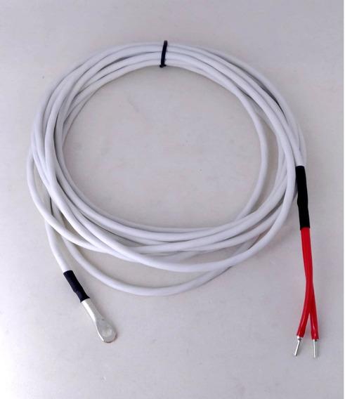 Sensor Ntc -50 A 200°c Cabo 15 Metros Olhal Aplicação Geral