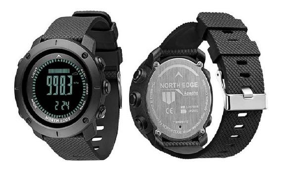 Relógio North Edge Apache Original Bússola Barômetro Altimet