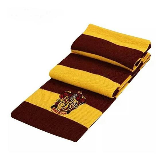Harry Potter Bufanda Gryffindor Hogwarts Casas
