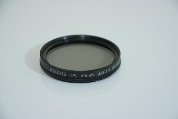 Filtro Zeikos 49mm Cpl Circular Polarizer Polarizador