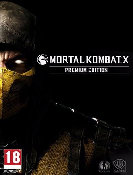 Mortal Kombat X Premium Edition - Pc (steam Key)