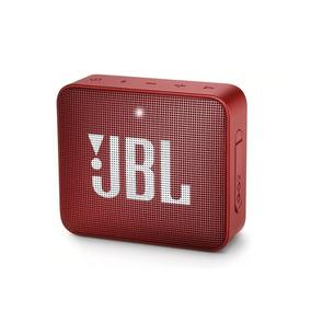 Caixa De Som Bluethooth Jbl Go 2 Vermelha Original